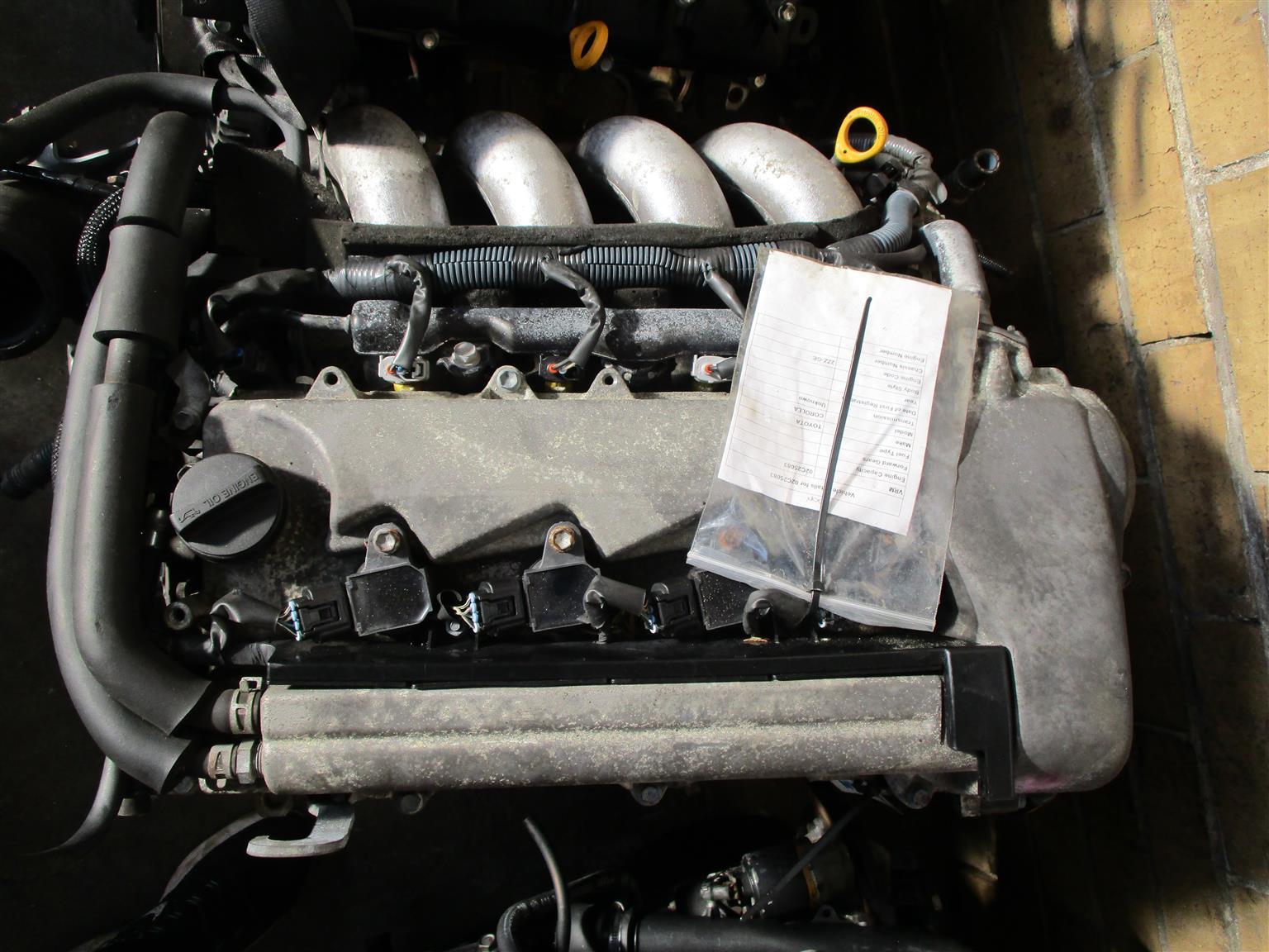 Toyota Celica 1.8 2ZZ Engine for Sale