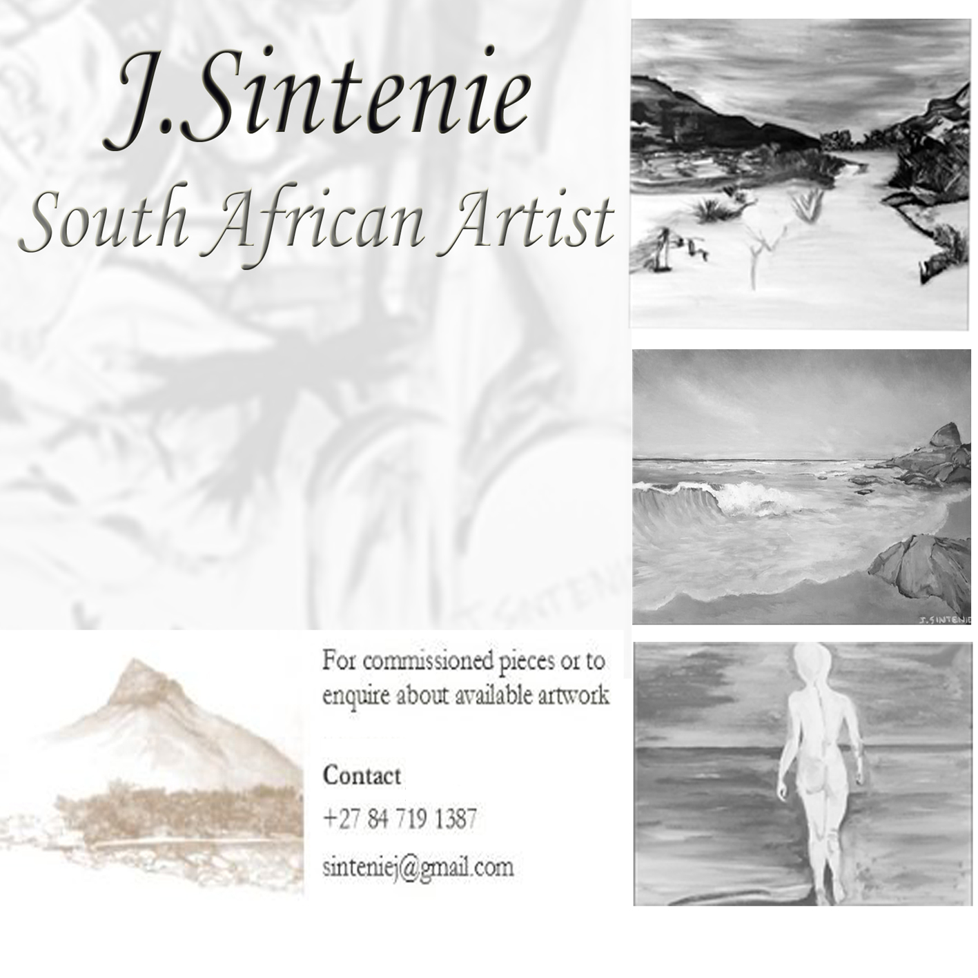 Original Artwork, commissions and live art performances available.