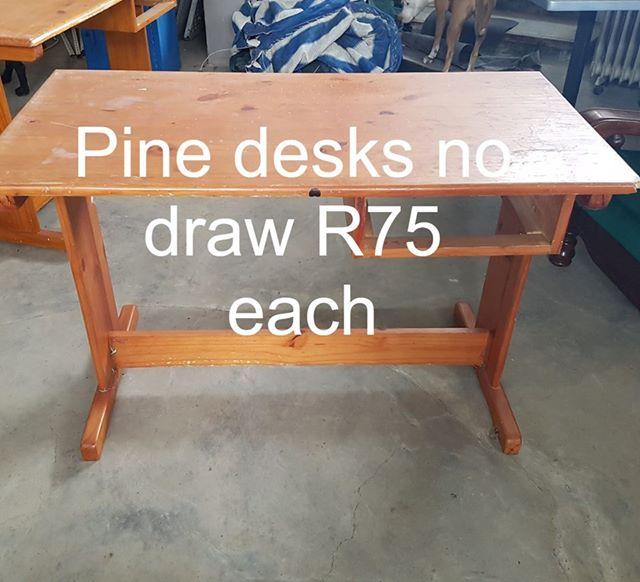 Pine desks for sale