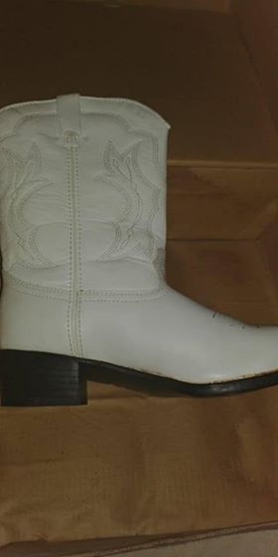 White cowboy boots for sale