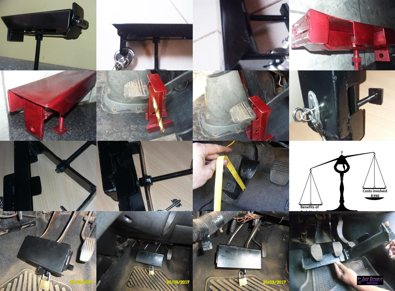 Brake & Clutch Double Pedal Lock