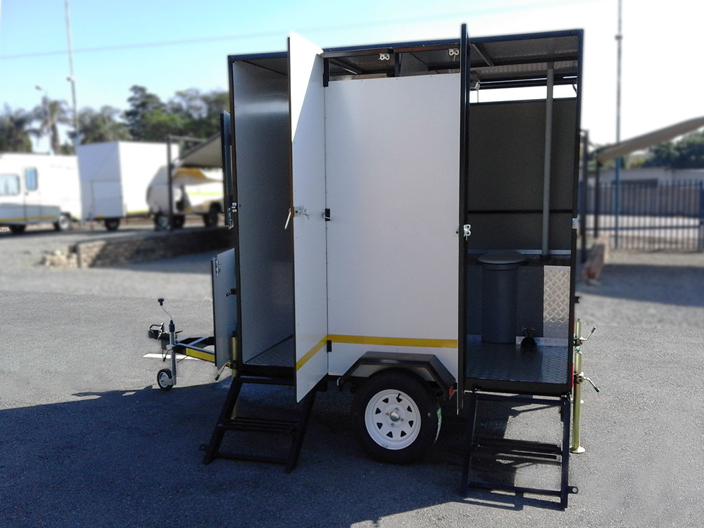 2.2 M  Toilet Trailer Brand New Available