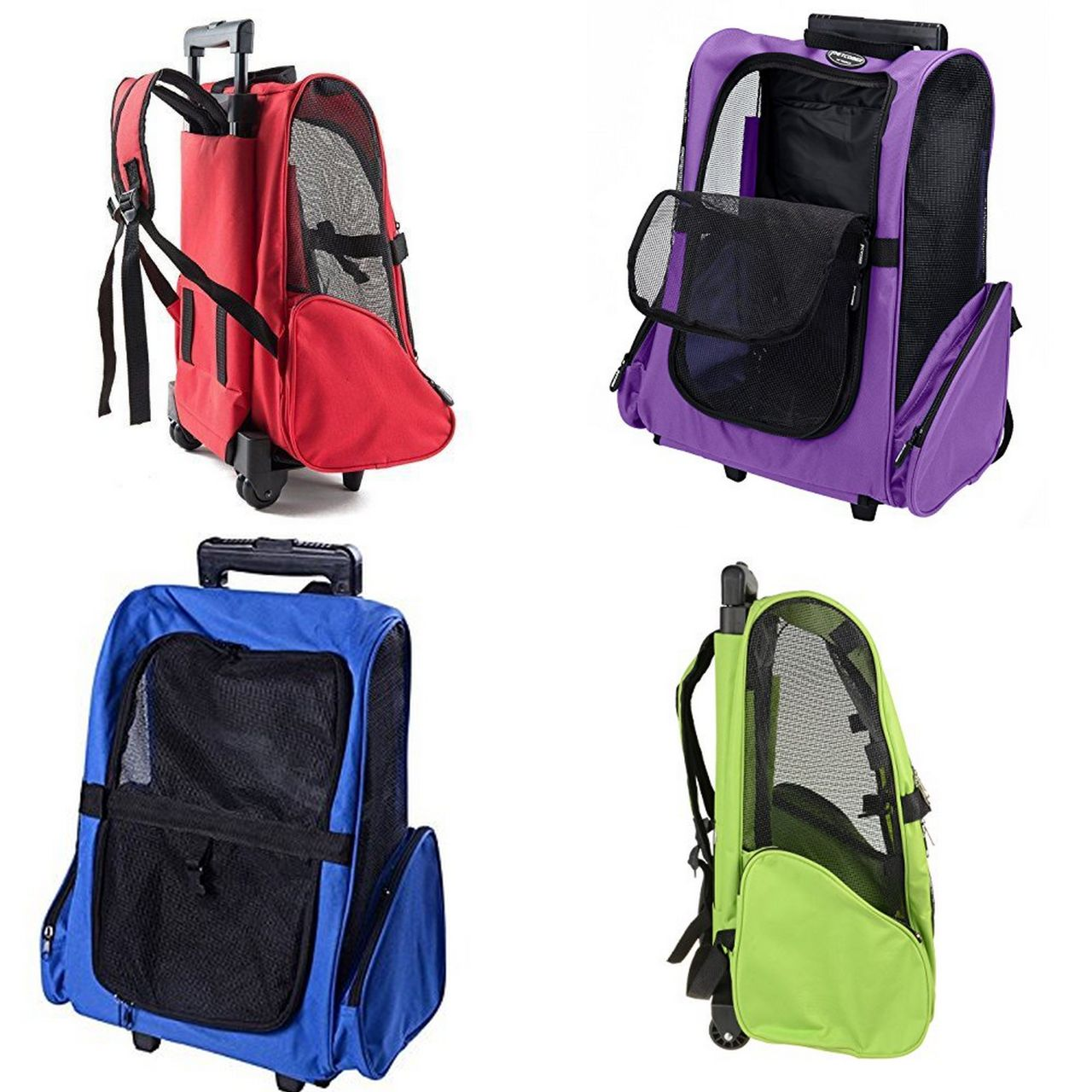 Backpack Trolley bag (Violet)