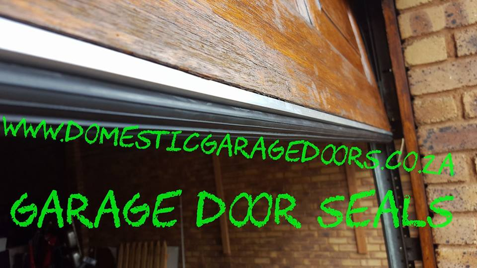 Garage door rubber seals/weather seals supplied and fitted
