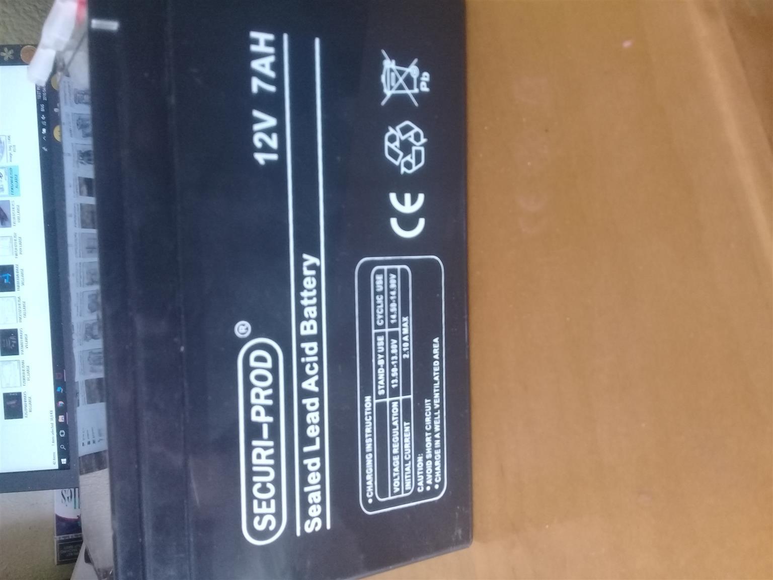 new 12v gate motor batteries