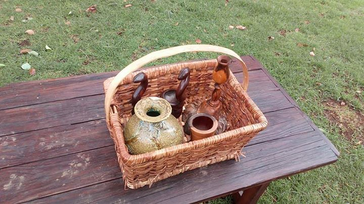 Loose items in basket
