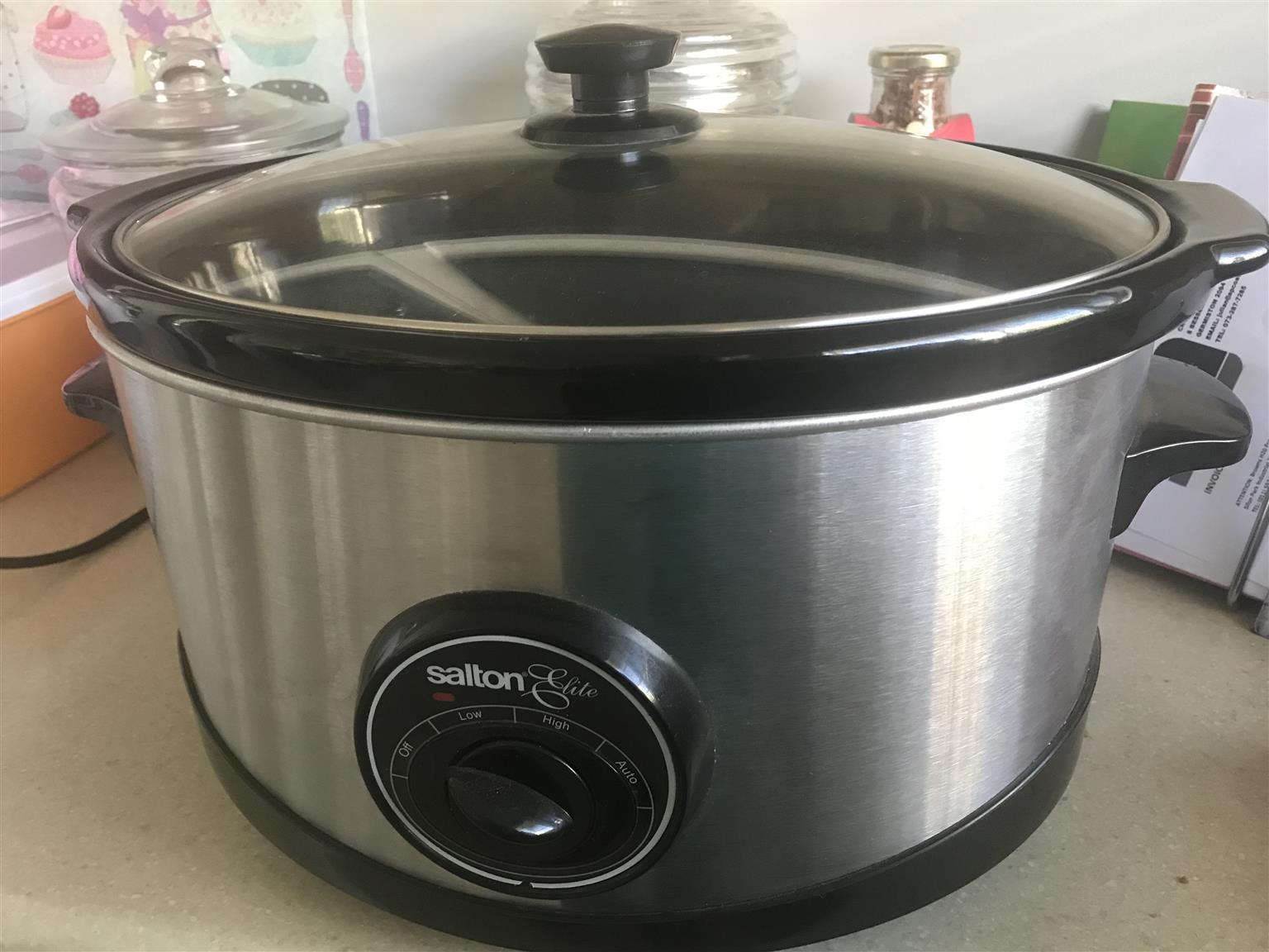 Salton Elite slow cooker