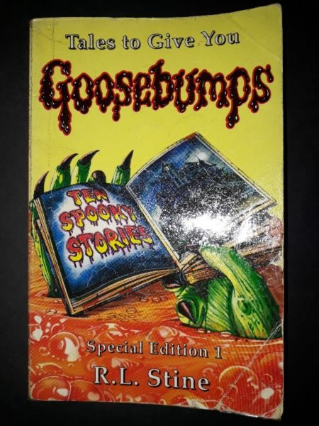 Goosebumps: Tales To Give You - R. L. Stine - Tales To Give You Goosebumps #1.