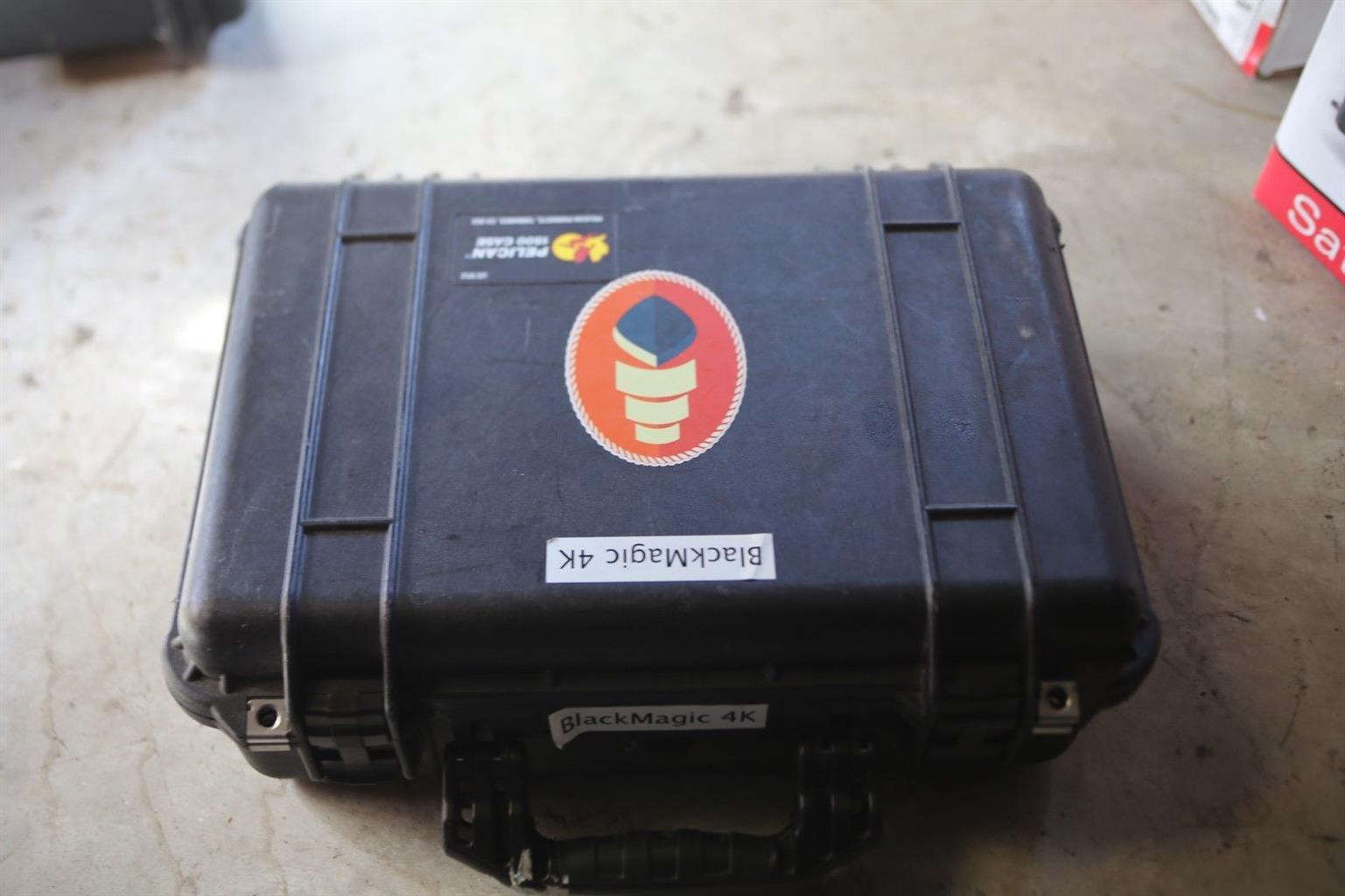Blackmagic Design Production Camera 4K (EF Mount) Camcorder - Black