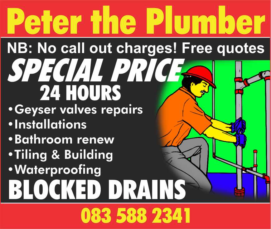 PETER THE PLUMBER