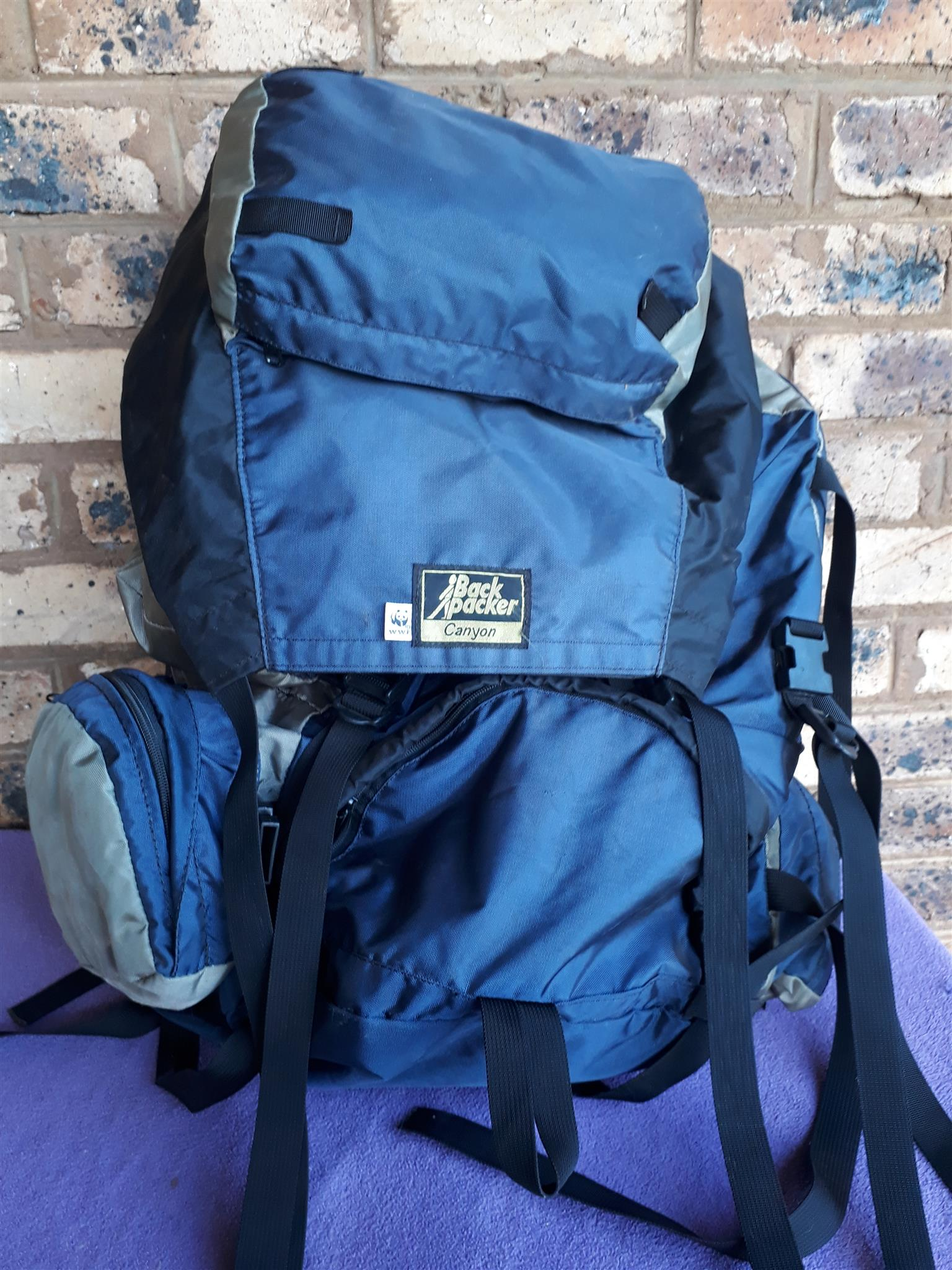 BackPacker Canyon 60L Special WWF edition