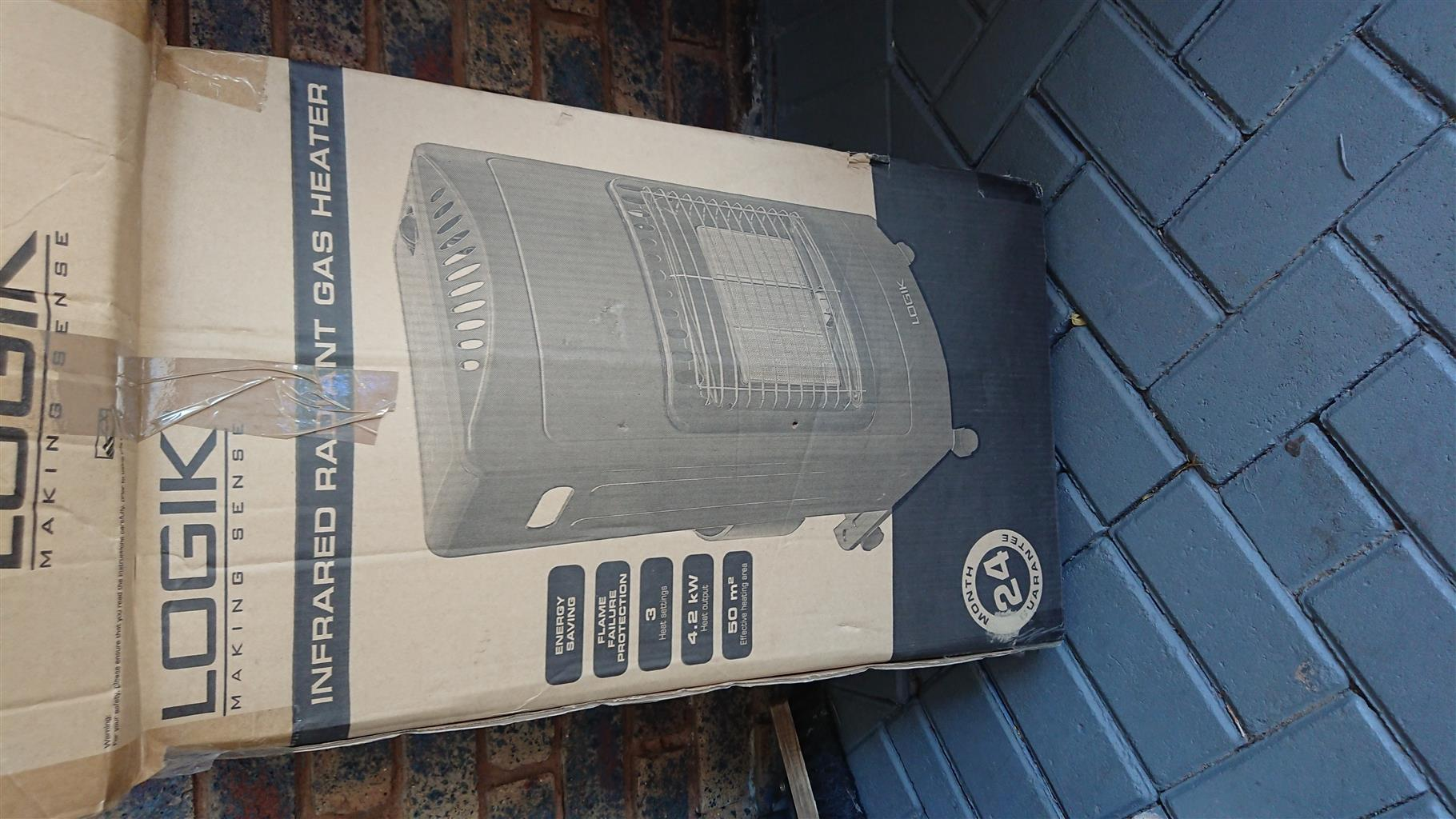 New gas heater