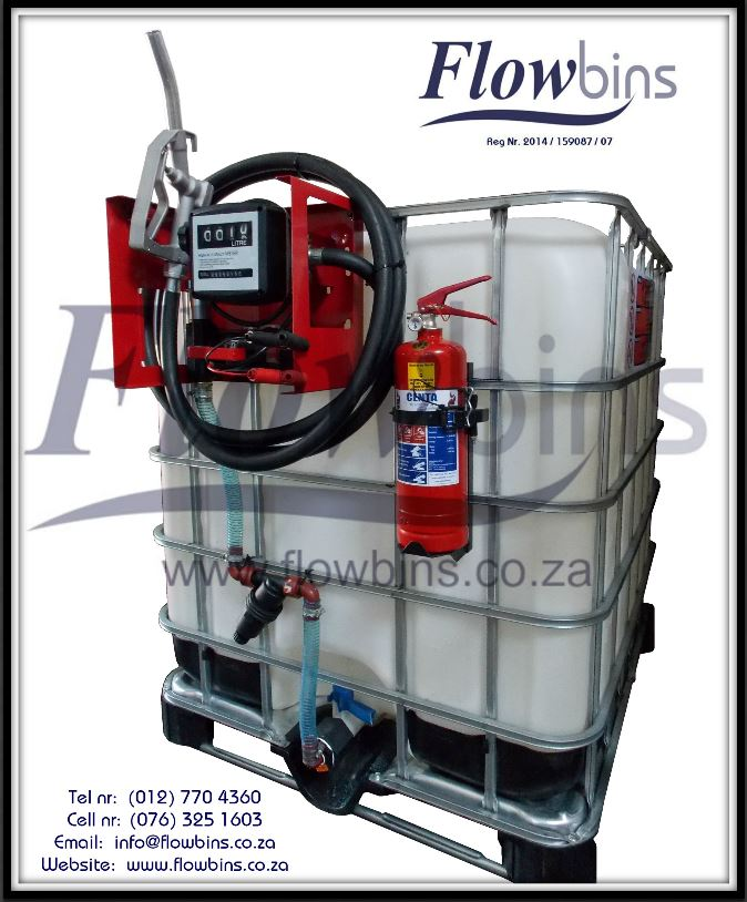 1000L Diesel / Paraffin Bowsers 12V / 220V NEW - from R4350 - Bakkie Skids, Trailers & Stationary Units
