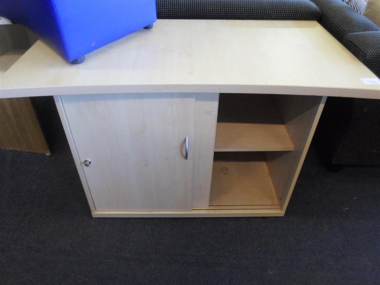 Halfmoon Wooden Desk