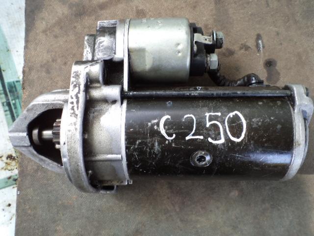 MercedesC250 starter motor.