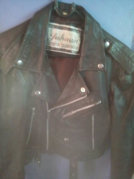 Genuine leather jacket ladies