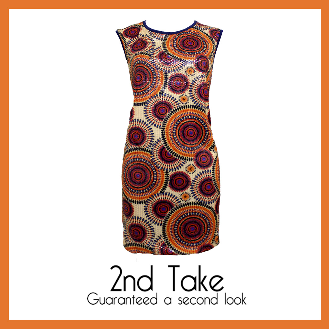 Get this My Collection, multi-colour sequence piece at 2nd Take!