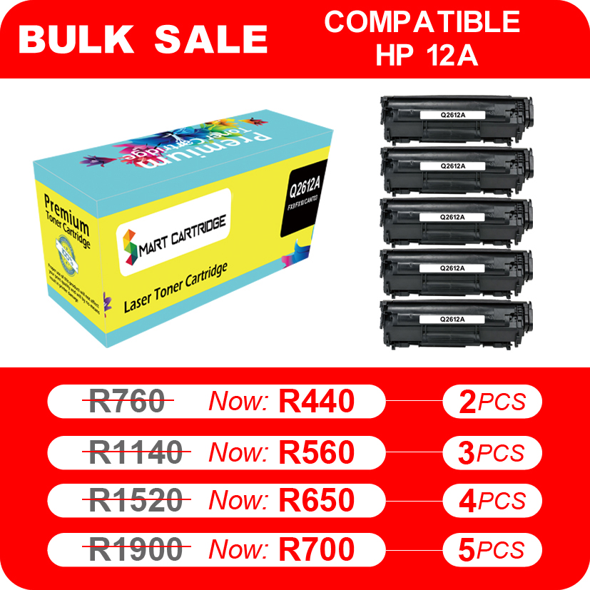 Samsung 105L | Samsung 101S | Samsung 111L | HP 12A | Compatible Ink and Toner Save up to 80%!