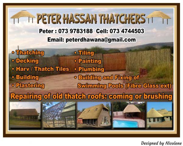 Peter Hassan Thatchers Warmbaths
