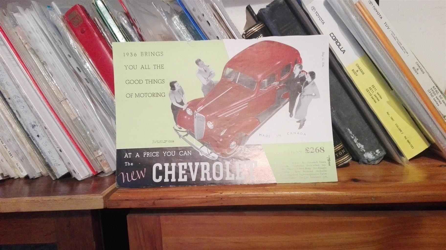 Chevrolet 1936: picture