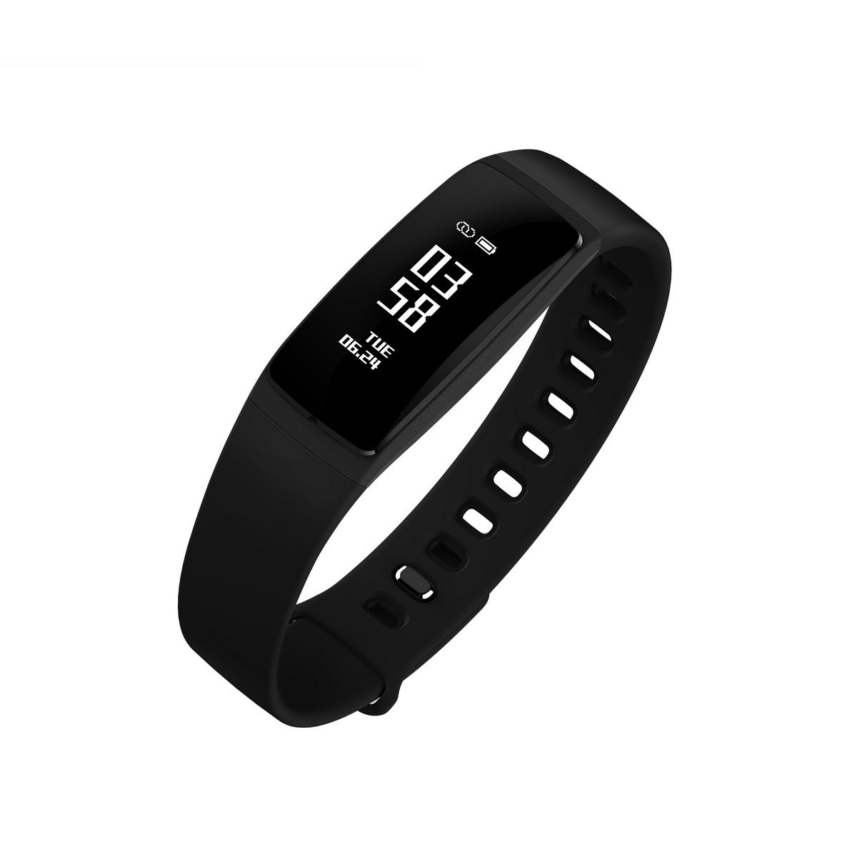 V07s Fitness Smart  Tracker with Heart Rate Monitor, Activity Tracker for Android IOS