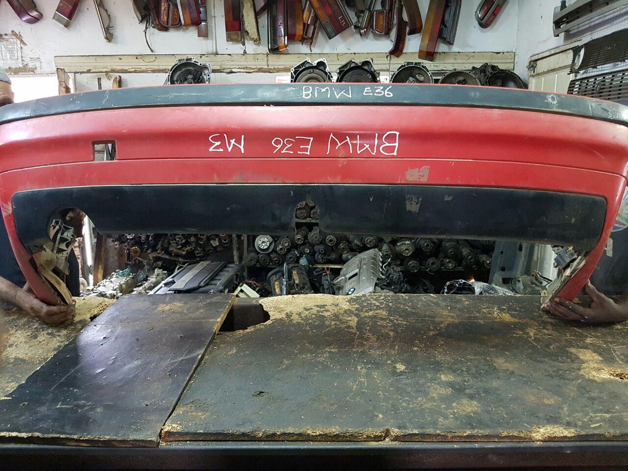 Btw e36 m3 rear bumper