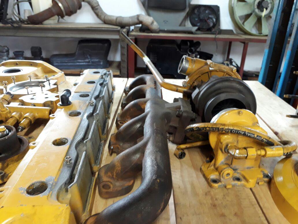 Bell G Series Grader or E Series Front End Loader Engine Spares