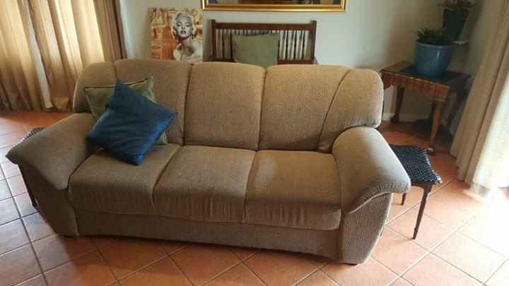 3 piece lounge suite, seats 6