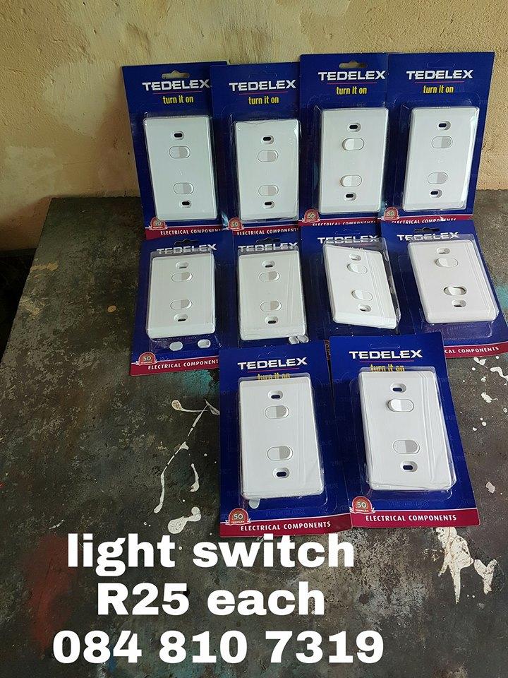 TEDELEX LIGHT SWITCHES