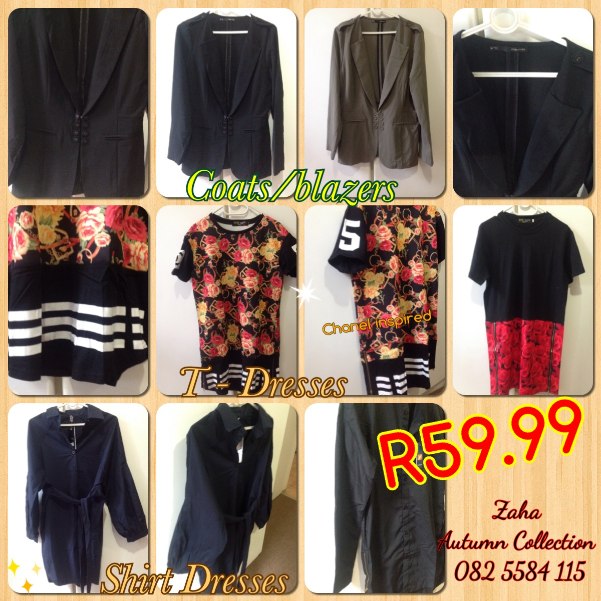 **SALE for Autumn | Coats Blazers | Skirt Dresses | Knits | T Dresses ***