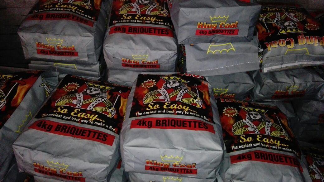 Briquettes nd industrial fans