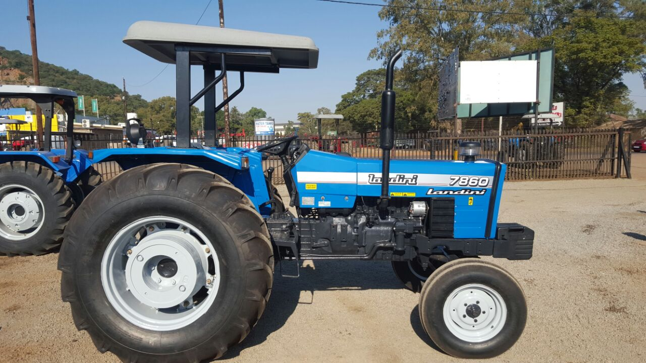 S3047 2008 Blue Landini 7860 53kW/71Hp 2x4 Pre-Owned Tractor