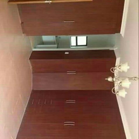 Built in cupboards on special