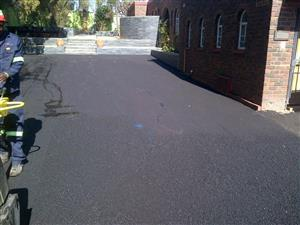 tar surfacing, brick paving, driveways and parking areas from 70m2