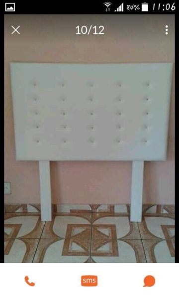 Designer pedestal and headboard