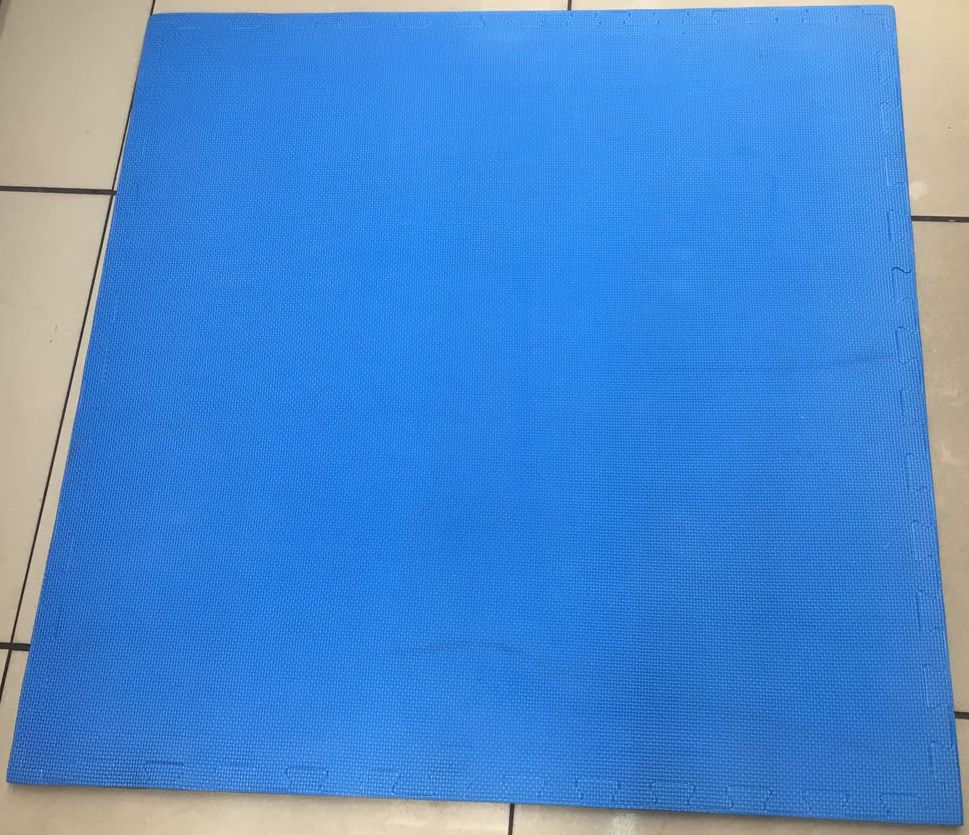 Foam puzzle – blue and grey