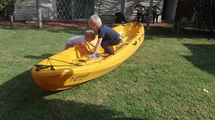 Kayak - Legend Nessy (Angler) New