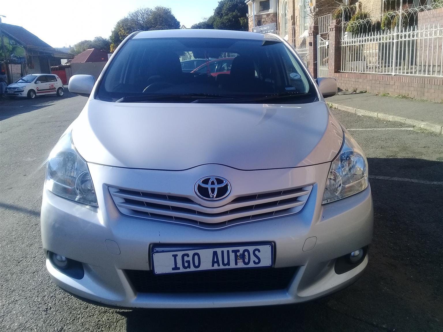 2012 Toyota Corolla Verso 180 SX