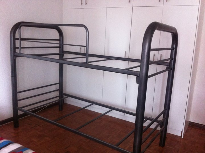Double Bunk Bed Steel Junk Mail