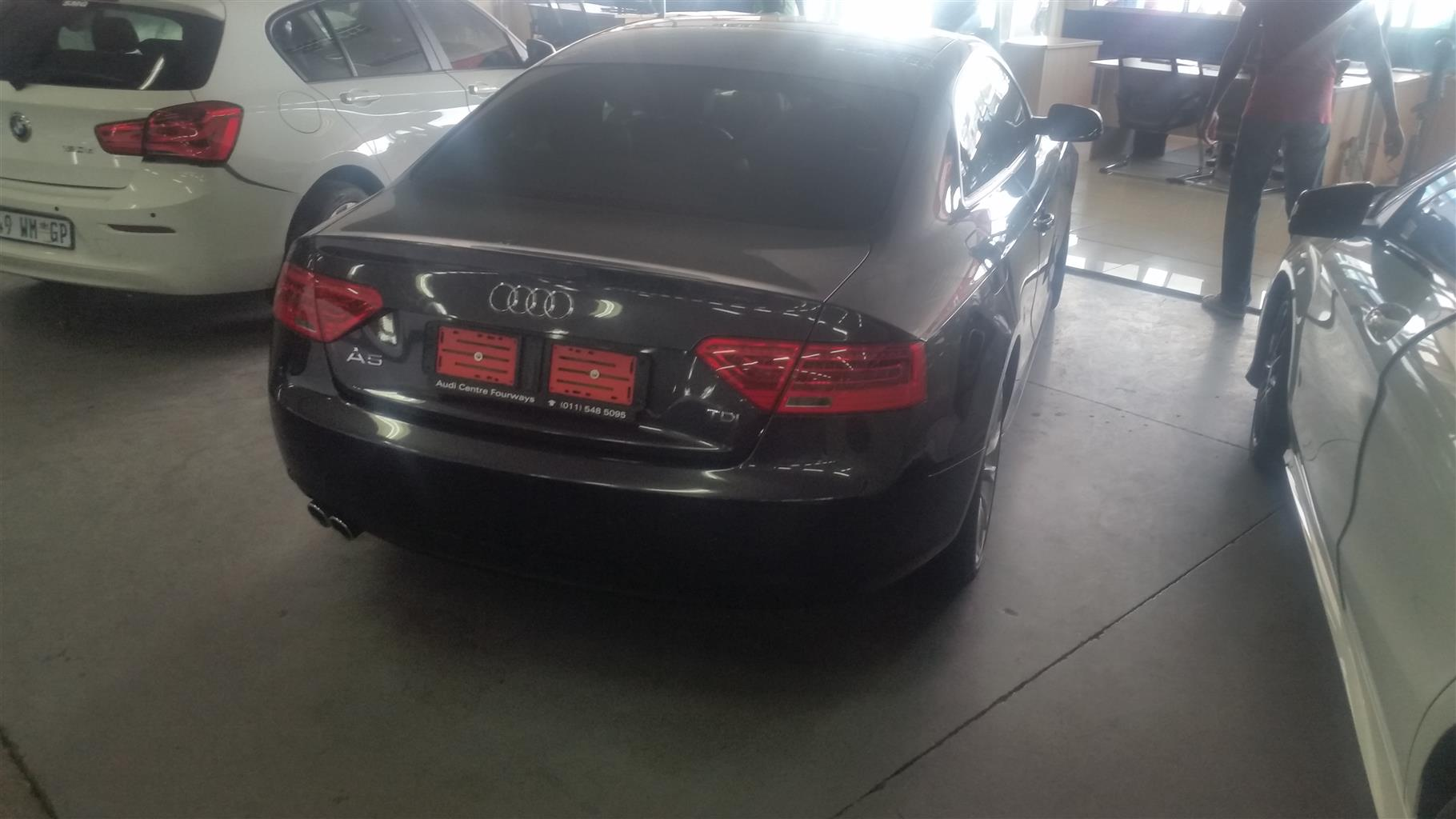 Audi A5, 2014 20TDI Multitronic With 79197 KM ( REF C24557)