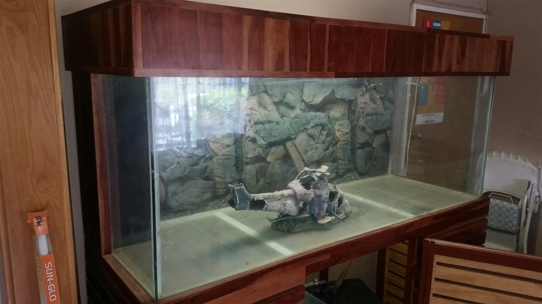 750L Fish Tank With Many Extras >>> Urgent Sale