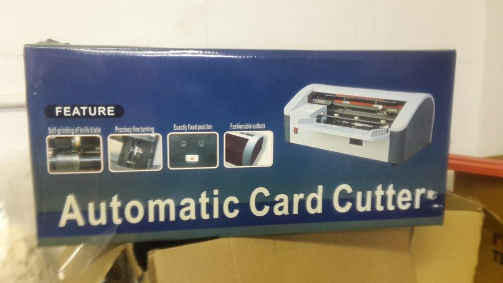 Full electric business card cutter a4 cuts in 1 pass can set full electric business card cutter a4 cuts in 1 pass can set different sizes used colourmoves Gallery