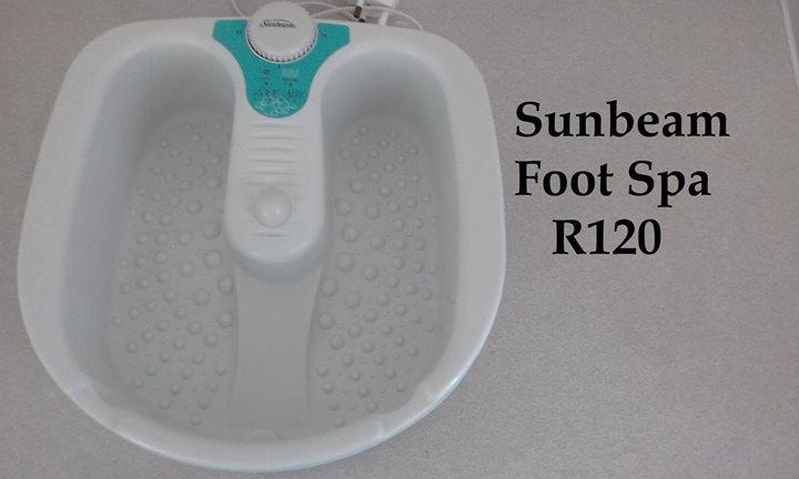 Sunbeam footspa for sale