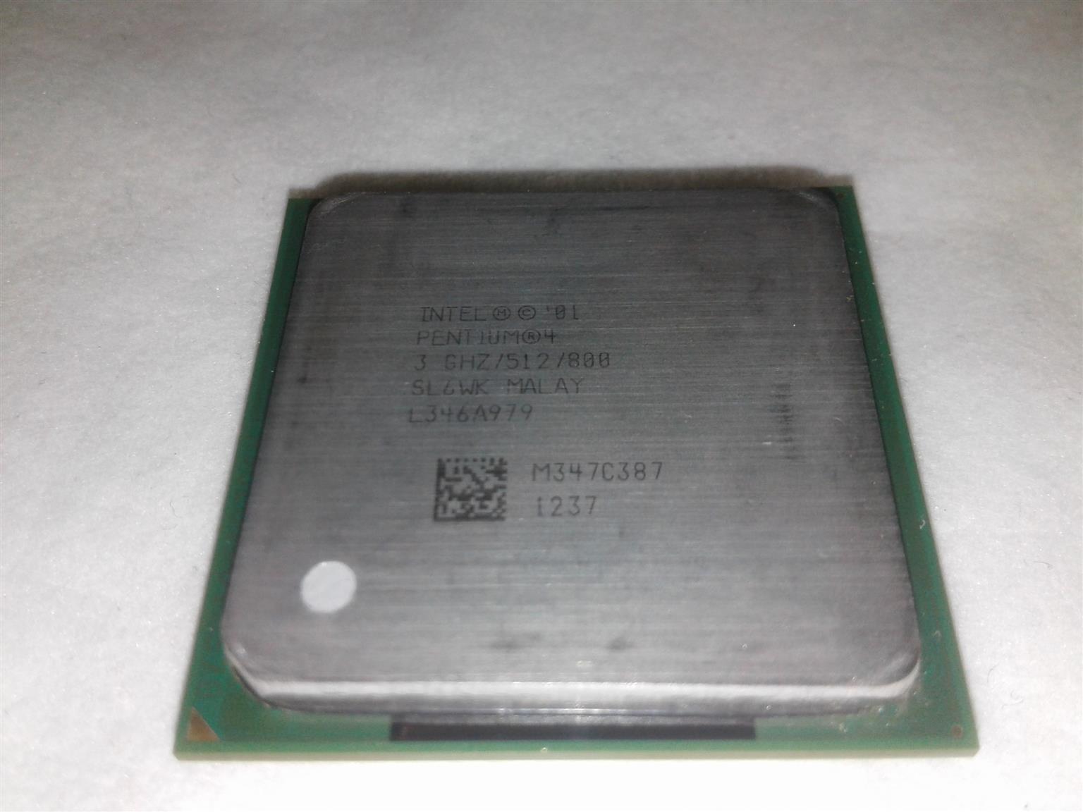 Intel Pentium 4 Cpu 300ghz Junk Mail Processor Socket 478