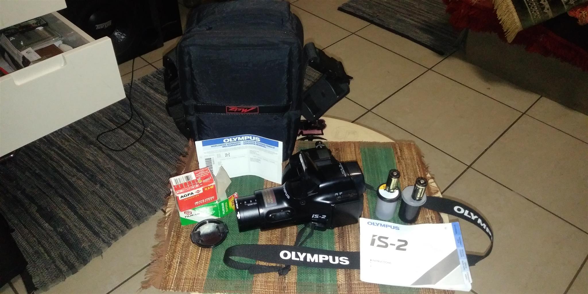 OLYMPUS is-2 Camera
