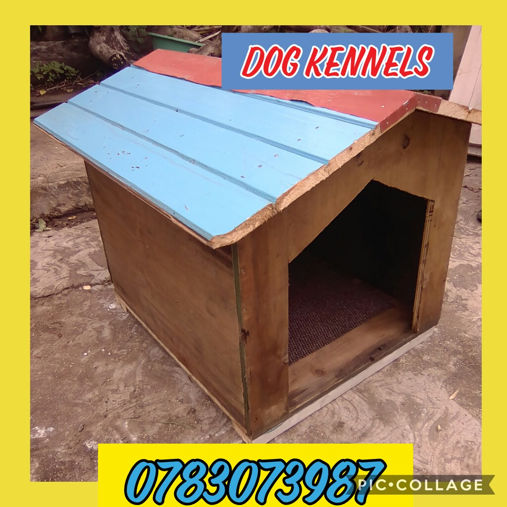 Dog kennels. New and used timber