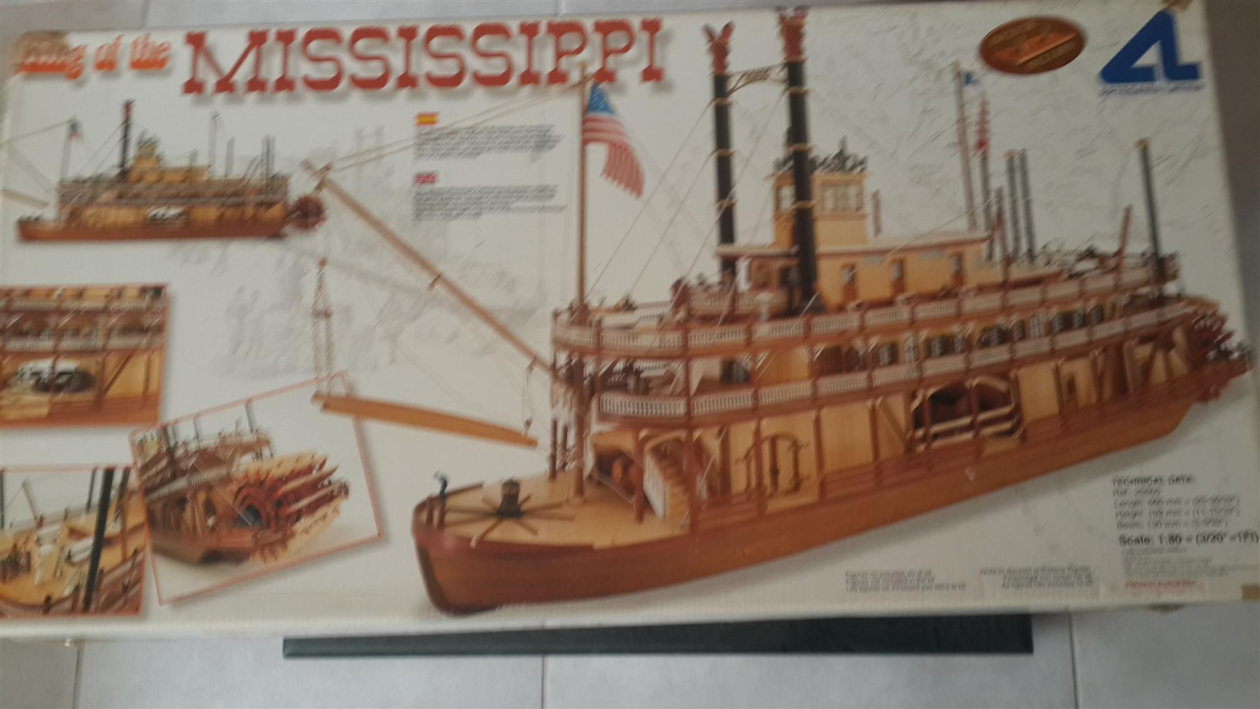 Model Wooden Ship Kits