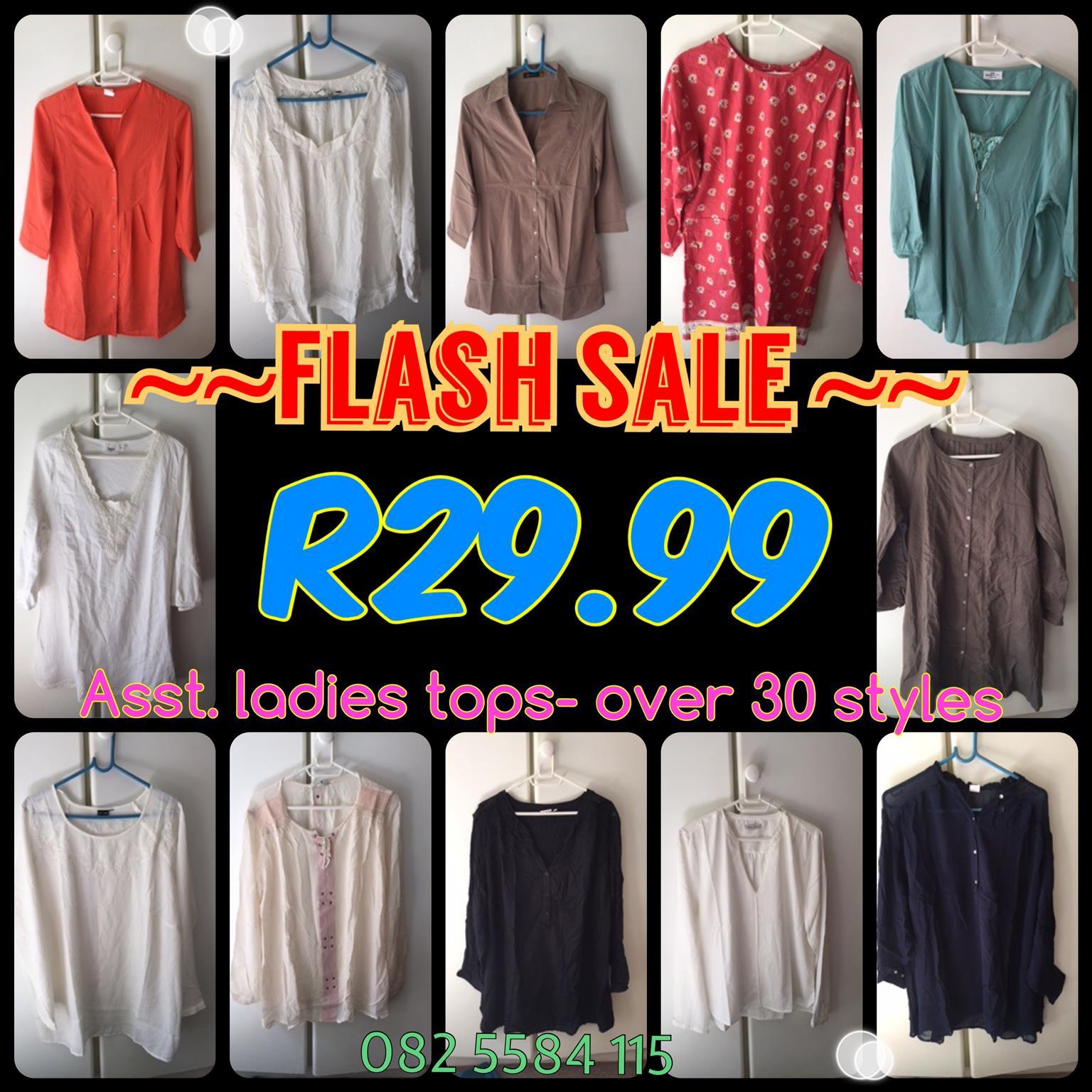 Bonanza SALE   Ladies Shirts   Tops   Blazers