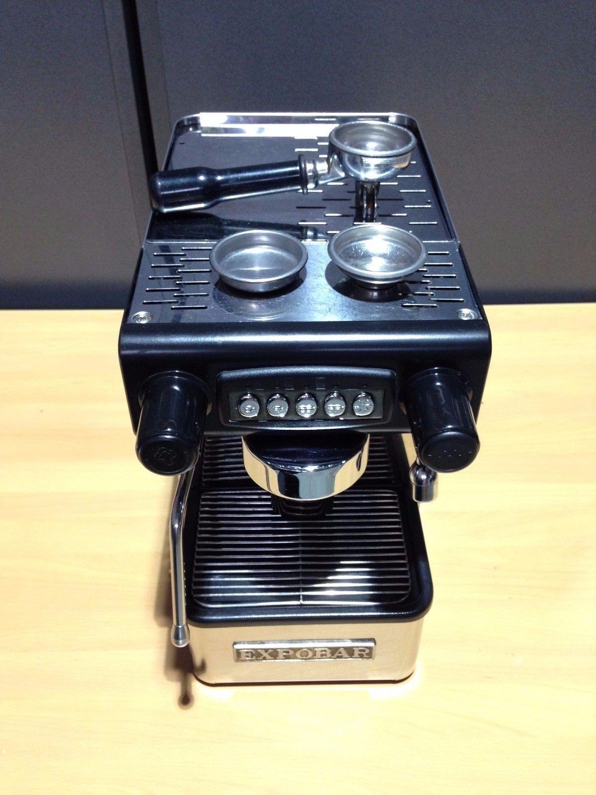 Expobar Office Control 1 Group Espresso Coffee Machine Cappuccino Maker