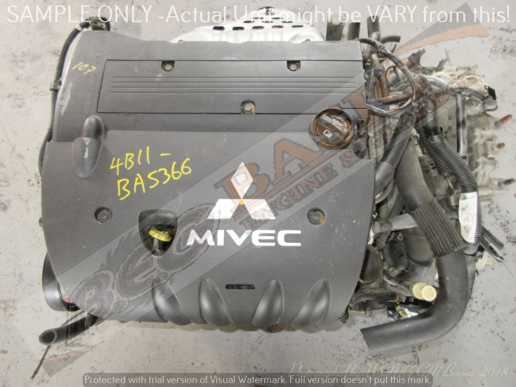 MITSUBISHI ASX -4B11 2.0L EFI 16V MIVEC Engine (Exclude Gearbox)